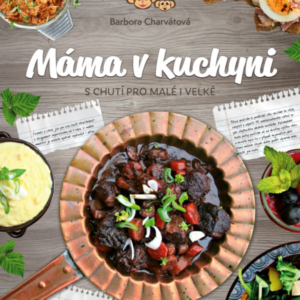 Kniha receptů Máma v kuchyni