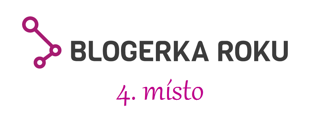 4. místo v anketě Blogerka roku 2017