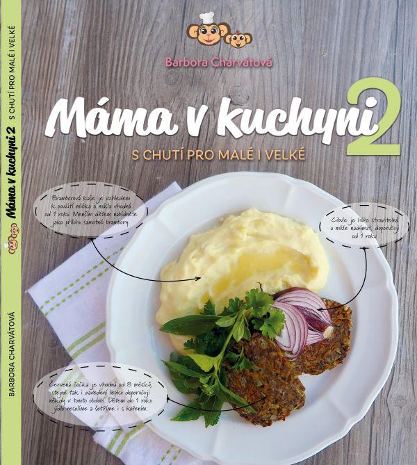 Kniha receptů Máma v kuchyni 2
